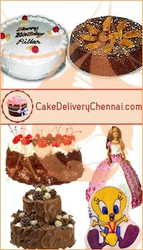 Chocolate Cakes to Chennai
